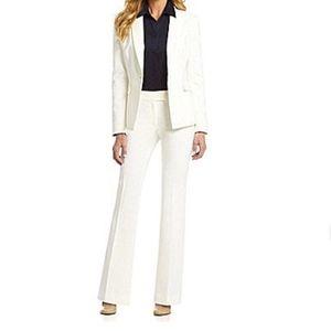 NWT Antonio Melani Maxine Fit Wide Leg White Pants